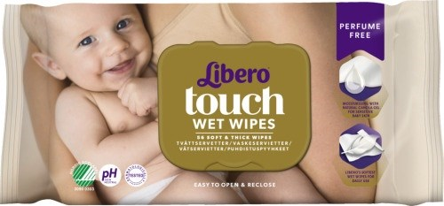 Libero Touch wet wipes