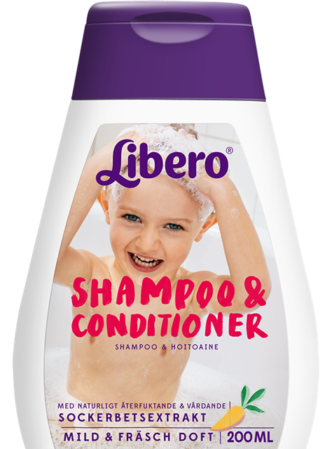 Libero shampoo conditioner